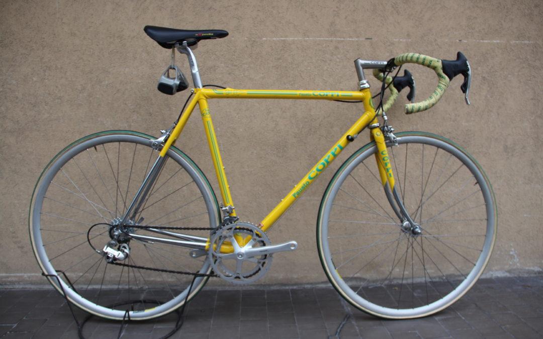 Bicicletta Coppi THRON Campagnolo veloce 8V
